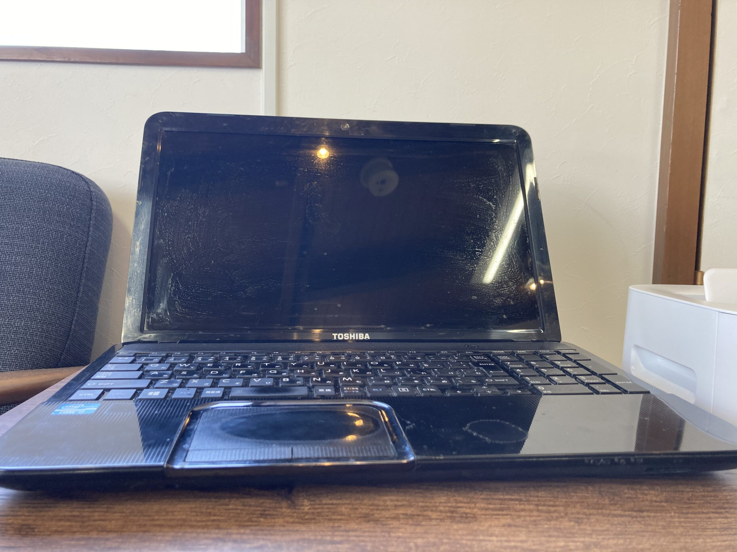 東芝 Dynabook T552/58HB パソコンが起動しない 小松市
