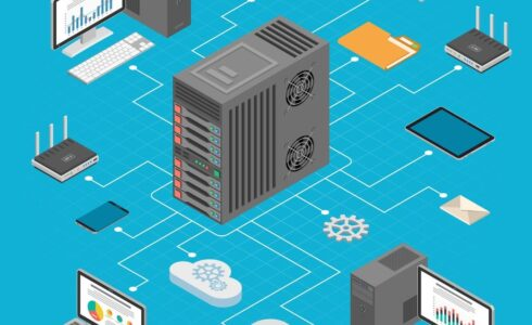 パソコンのサーバー