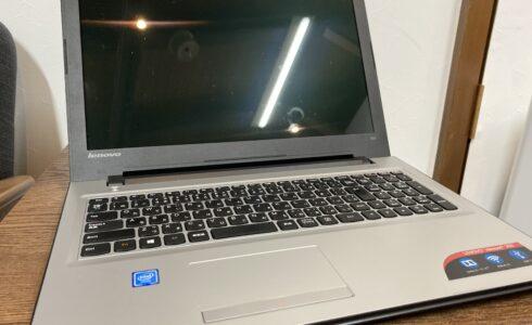 SSD換装、メモリ増設 Lenovo ideapad 300 金沢市